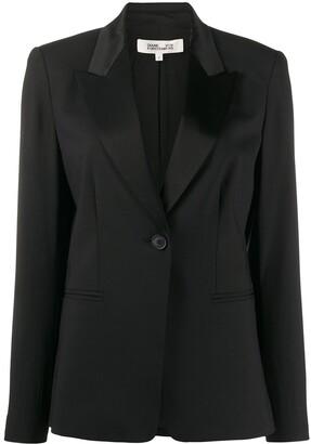 Diane von Furstenberg One-Button Blazer