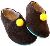 Men's Wool Pom Slippers