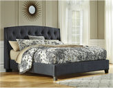 Signature Design by Ashley Kasidon King Button Tufted Upholstered Bed