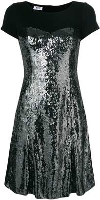 Moschino Pre-Owned sequinned bodice dress