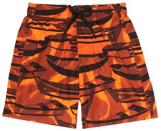 Vilebrequin Kids Jihin printed swim trunks