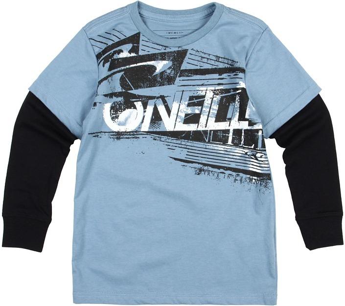 O'Neill Kids - Trench L/S 2Fer Pullover (Little Kids) (Indigo) - Apparel