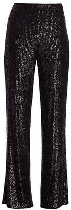 Teri Jon By Rickie Freeman Sequin Wide-Leg Pants