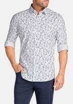 TAROCASH Broken Paisley Stretch Shirt