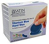 Satin Smooth Titanium Blue Microwaveable Wax Kit (3 Pack)