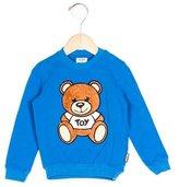 Moschino Boys' Bear-Appliqué Long Sleeve Sweatshirt