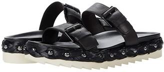 Donald J Pliner Larabee (Black) Women's Sandals