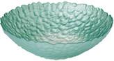 Tara Dennis Floral Reef Glass Bowl Green