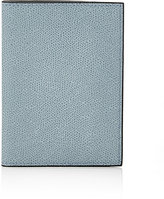 Valextra Women's Passport Case-LIGHT BLUE, NUDE