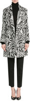 Missoni Zebra Print Wool Coat