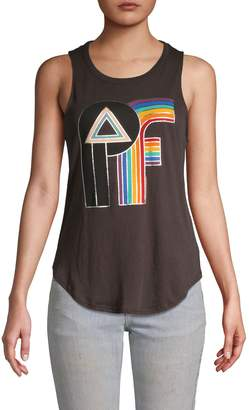 Chaser Graphic Cotton Tank Top