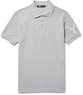 Y-3 - Slim-fit Printed Cotton-piqué Polo Shirt