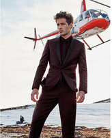 Express slim photographer tuxedo blazer