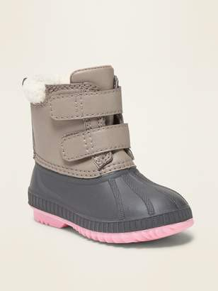 Old Navy Duck Boots for Toddler Girls