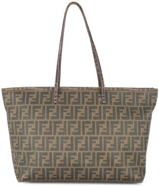 Fendi Pre-Owned Zucca pattern tote bag