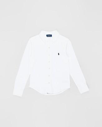Polo Ralph Lauren Cotton Interlock Shirt - Teens