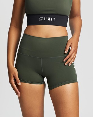 Unit Women's Shorts - Tempo Mini Active Shorts - Size One Size, 8 at The Iconic