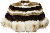 Andrea Bogosian - fur cropped jacket - women - Fox Fur/Rabbit Fur - M