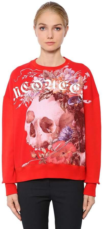 Alexander McQueen Oversized Dutch Master Cotton Sweatshirt