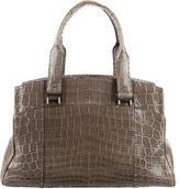VBH Crocodile Via Bag
