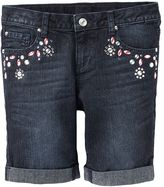 So jeweled denim bermuda shorts - girls 7-16