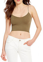 Free People Seamless Cropped Cami