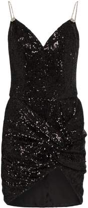 Magda Butrym Deva sequin-embellished mini dress