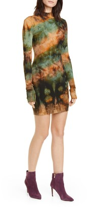 Cotton Citizen The Ibiza Tie Dye Long Sleeve Dress