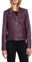 Bagatelle Quilted Lambskin Leather Moto Jacket