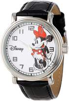 Disney Kids' W000530 Minnie Mouse Vintage Watch