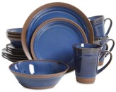 Gibson Brynn Cobalt 16-Piece Dinnerware Set