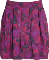 Liza print skirt