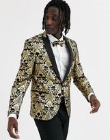 Craft /& Soul Mens Slim Fit Stretch Velvet Blazer Jacket Sport Coat