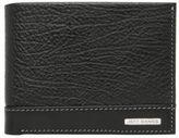 Jeff Banks NEW Contrast Panel Wallet Black