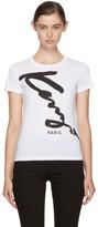 Kenzo White Signature T-shirt