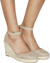 Office Marsha Closed Toe Espadrille Wedges
