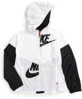 Nike Girl's Sportswear Windrunner Hooded Jacket