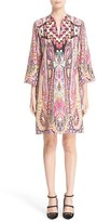 Etro Women's Ikat Paisley Print Shift Dress
