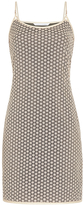 Diane von Furstenberg Alvera Metallic Lace Slip Dress