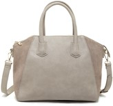 Sole Society Mikayla Structured Satchel w/ Genuine Suede