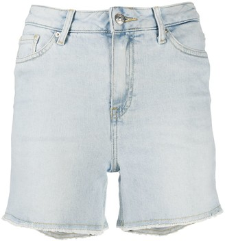 Tommy Hilfiger Frayed Hem Denim Shorts