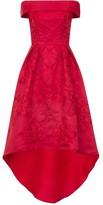 Bardot Chi Chi Fold-Over Midi Dress