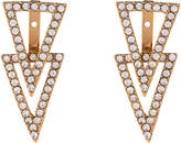 Vince Camuto Gold-Tone Triangle Earrings