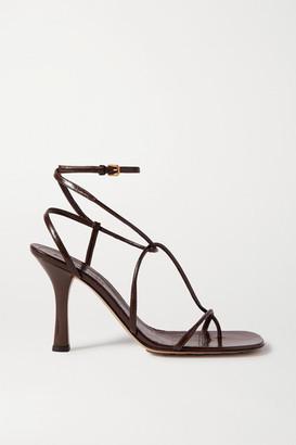 Bottega Veneta Leather Sandals - Brown