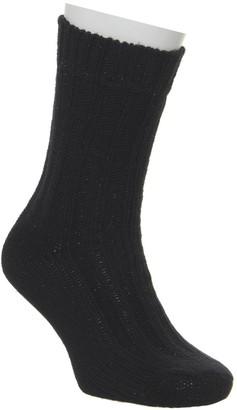 Birkenstock Bling Black Socks Black