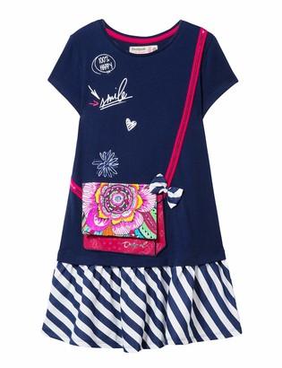 Desigual Girl's Knit Dress Short Sleeve (Vest_Carson)
