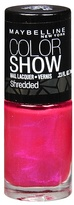 Maybelline Shredded Nail Lacquer Magenta Mirage