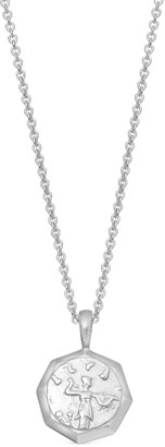Missoma Silver Lucy Williams Octagon Coin Necklace