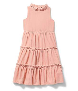 Janie and Jack x Rachel Zoe Velvet Tiered Maxi Dress (Little Kids/Big Kids)