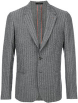 Paul Smith classic striped blazer - men - Cupro/Wool - 36